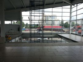 Торговый центр в Кировске